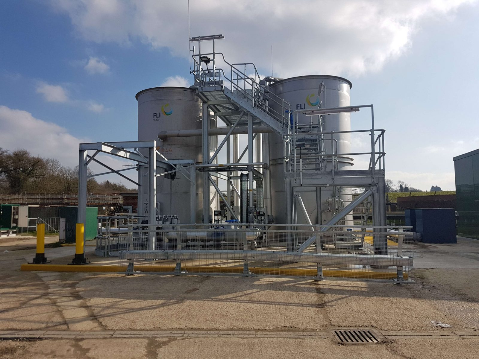 FLI Water Awarded Three HiSA MBBR Projects